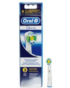 Oral-b 3d White Testine Di Ricambio  3 Pezzi