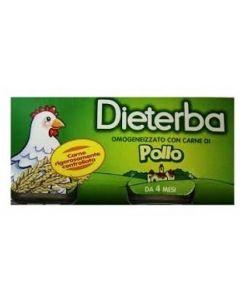 Dieterba Omog Pollo 3pz 80g
