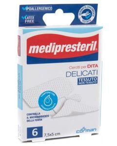 Cerotto Medipresteril Delicato Dita 6 Pezzi