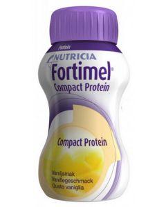 Nutricia Fortimel Compact Protein Integratore Alimentare Gusto Vaniglia 4x125ml