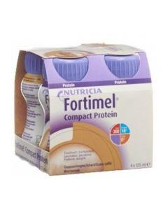 Nutricia Fortimel Compact Protein Integratore Alimentare Gusto Caffè 4x125ml