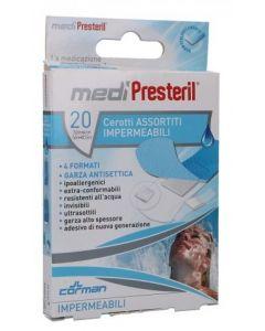 Cerotto Medipresteril Impermeabile 4 Formati Assortiti 20 Pezzi