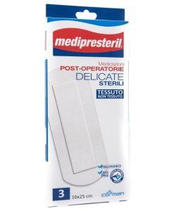 Medicazione Medipresteril Post Operatoria Delicata Sterile 10x25 3 Pezzi