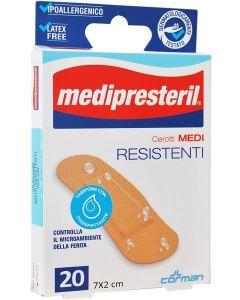 Cerotto Medipresteril Resistenti Medi 7x2cm 20 Pezzi