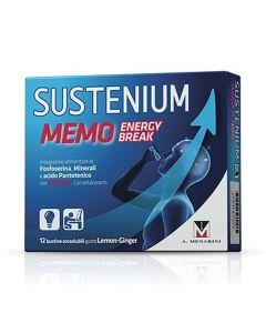 Sustenium Memo Energy Break Integratore Alimentare 12 Bustine Da 2g