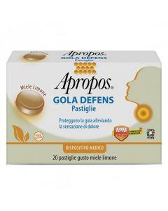 Apropos Gola Defens Miele E Limone 20 Pastiglie