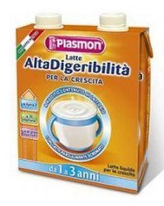 Plasmon Latte Alta Digeribilità Per La Crescita 500ml