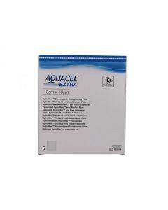 Aquacel Extra Medicazione Con Carbossimetilcellulosa Sodica 10x10 Cm 5 Pezzi