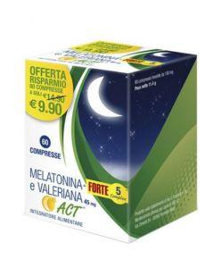 MELATONINA ACT1MG+VALER 5FT 60