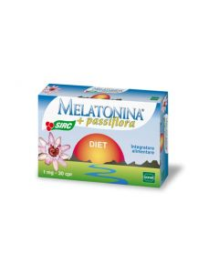 Sofar Melatonina + Passiflora Diet Integratore Alimentare 30 Compresse