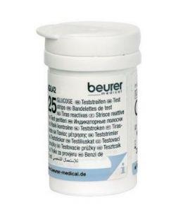 Beurer Strisce Misurazione Glicemia Per Glucometro Gl42 E Gl43 25 Pezzi