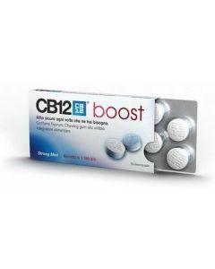 CB12 Boost Menta Forte Senza Zucchero 10 Chewing-Gum