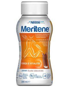 Nestlè Meritene Drink Integratore Alimentare Gusto Cioccolato 200ml