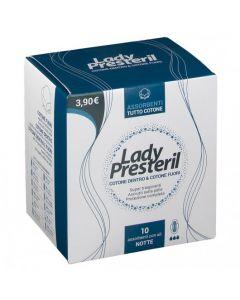 Lady Presteril Cotton Power Assorbenti Notte Pocket Con Ali Ripiegati Promo 10 Pezzi