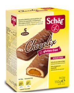 Schar Chocolix Barrette Senza Glutine 110g (5x22g)