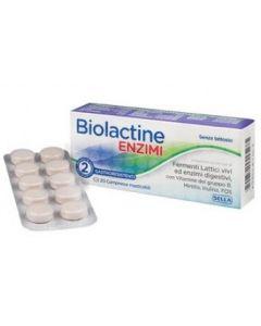 Biolactine Nuovo 20 Compresse Integratore Di Fermenti Lattici Vivi