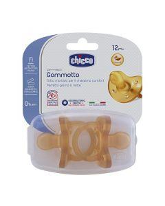 Chicco Gommotto Phisio Soft In Caucciù 12m+ 2 Pezzi
