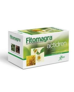 Aboca Fitomagra Actidren Tisana 20 Bustine Da 1.8g