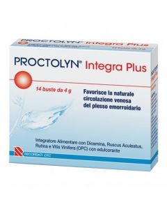 Proctolyn Integra Plus 14 bustine inegratore alimentare