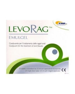 LEVORAG EMULGEL 20TUB 3,5ML