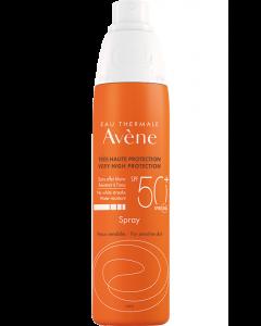 Avène Solare Pelle Sensibile Spray Spf50+ 200ml