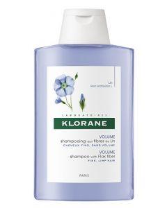 Klorane Shampoo Alle Fibre Di Lino 200ml
