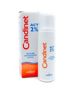 Uniderm Candinet Act 2% Schiuma Detergente Attiva 150ml
