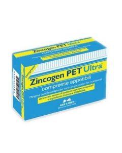 Zincogen Pet Ultra Integratore Alimentare Per Cani 60 Compresse Appetibili