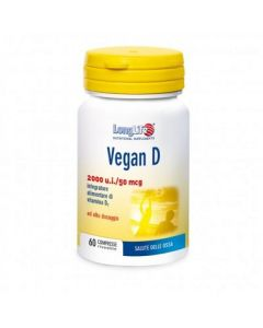 Longlife Vegan D 60 Compresse