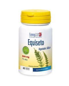 Longlife Equiseto 2,5% In Silice Integratore Alimentare 60 Capsule