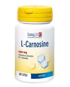 Longlife L-carnosine Integratore Alimentare 60 Capsule