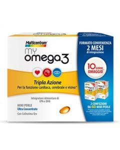 Multicentrum My Omega3 Integratore Alimentare 120 Perle