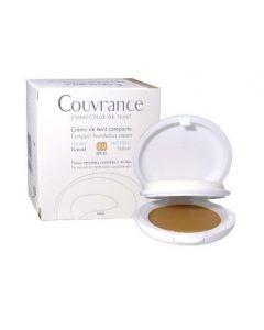 Eau Thermale Avene Couvrance Crema Compatta Colorata Nf Oil Free Naturale 9,5 G