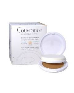 Eau Thermale Avene Couvrance Crema Compatta Colorata Nf Oil Free Porcellana 9,5 G