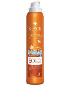 Rilastil Sun System Ppt Spf 50+ Baby Spray Vapo 200 Ml
