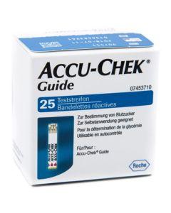 Accu-Chek Guide 25 Strips Reattive