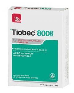 Tiobec 800 Duo Compresse Orosolubili 18,9 G