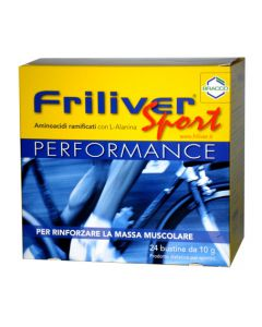 Friliver Sport Performance 24 Bustine Da 10gr