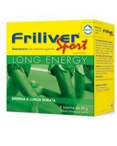Friliver Sport Long Energy 8 Bustine Da 30g