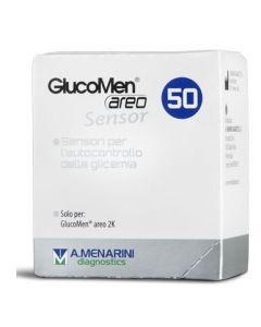 Strisce Glucomen Areo Sensor Per Analisi Del Glucosio 50 Pezzi