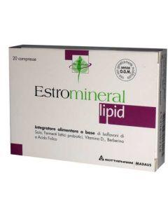 Estromineral Lipid 20 Compresse Integratore Menopausa
