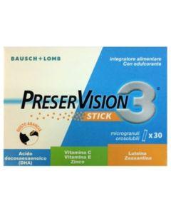 Preservision 3 30 Stick Orosolubili Da 2 G