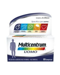 MULTICENTRUM UOMO 60 COMPRESSE