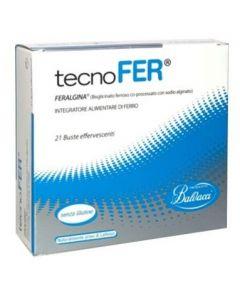 Tecnofer Effervescente 21 Bustine Integratore Alimentare A Base Di Ferro