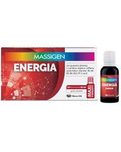 MASSIGEN ENERGIA 10 FLACONI DA 25 ML