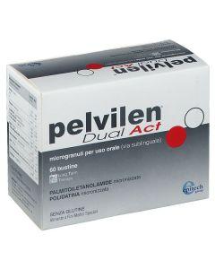 Epitaph Pelvilen Dual Act Microgranuli Integratore Alimentare 60 Bustine Orosolubili