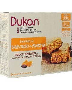 Dukan Barrette Alla Crusca D'Avena Al Cioccolato E Arancia 6 Pezzi