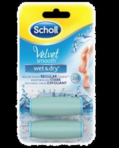Dr Sholl Velvet Soft Ricariche Roll Con Cristalli Di Diamante 2 Ricambi