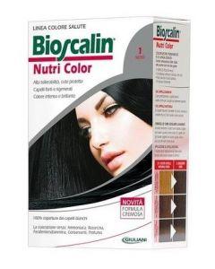 Bioscalin NutriColor COlorazione Permanente Tonalità 1 Nero