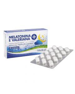 MELATONINA VALERIANA+ 30CPR